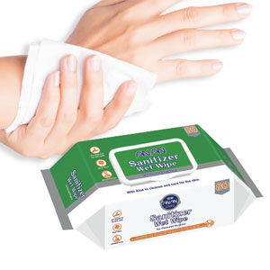 Sanitizing Hands Wipes