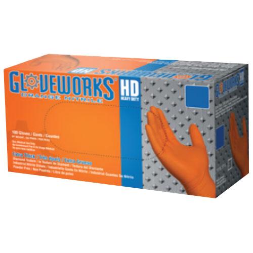 8 Mil Nitrile Disposable Gloves